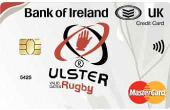 Thumbnail of Ulster Rugby Mastercard