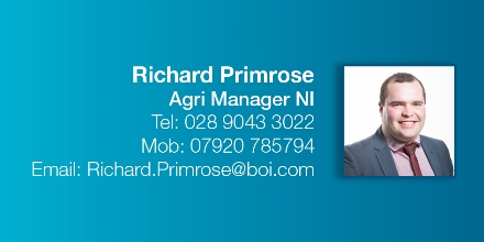 Richard Primrose, Agricultural Manager for Northern Ireland. Contact him on 02890 433022 or 07920 785794.