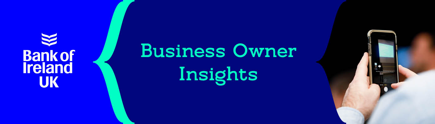 The Business Owner Insights banner